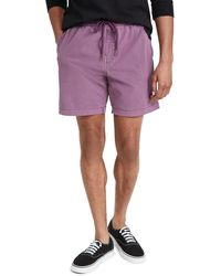 Deus Ex Machina Sandbar Solid Dye Shorts - Purple
