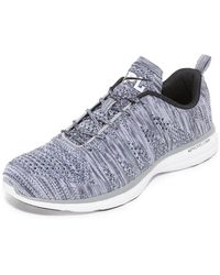Athletic Propulsion Labs Techloom Pro Running Sneakers - Grey