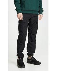 Carhartt WIP Aviation Cargo Trousers - Black