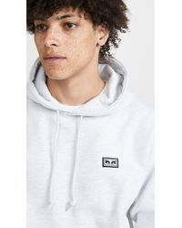 Obey All Eyez Pullover Hoodie - Gray