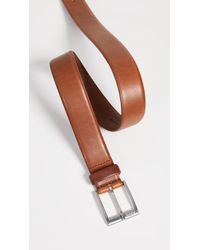 BOSS - Erron Smooth Leather Belt - Lyst