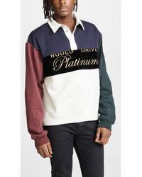 Alexander Wang - Platinum Rugby Jersey Pullover - Lyst