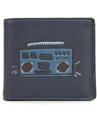 COACH - X Keith Haring Glovetan Double Bill Wallet - Lyst