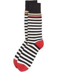 Paul Smith Two Stripe Multi Top Socks - Multicolour