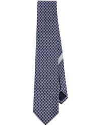 Ferragamo - Gancini Shadow Tie - Lyst