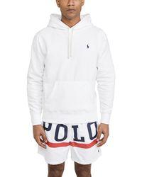 Polo Ralph Lauren Long Sleeve Fleece Sweatshirt - White