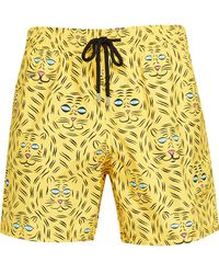 Vilebrequin Bengale Tigers Shorts - Yellow