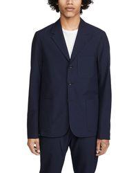 PS by Paul Smith Unconstructed Seersucker Sportcoat - Blue