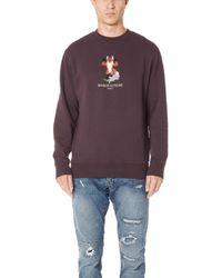 Maison Kitsuné - Pixel Fox Sweatshirt - Lyst