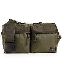 Porter Force 2 Way Waist Bag - Green