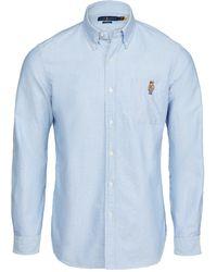 Polo Ralph Lauren Oxford Sport Shirt - Blue