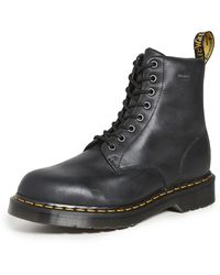 Dr. Martens 1460 Waterproof 8 Eye Boots - Black