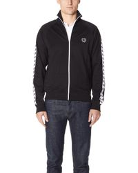 Fred Perry - Taped Track Jacket - Lyst