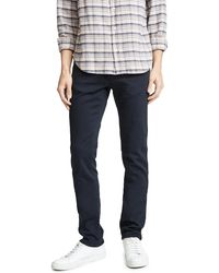 J Brand Kane Straight Fit Jeans - Blue