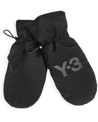 Y-3 Ch3 Mittens - Black