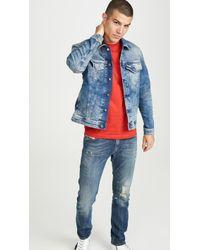 DIESEL Nhill-tw Denim Jacket - Blue