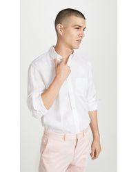 J.Crew Long Sleeve Baird Mcnutt Linen Shirt - White