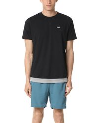 RVCA Runner Mesh Short Sleeve Shirt - Black