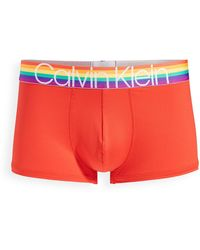 Calvin Klein The Pride Edit Low Rise Trunks - Multicolour