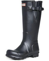 HUNTER Original Side Adjustable Tall Boots - Black
