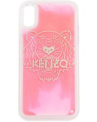 KENZO Tiger Head Iphone X / Xs Case - Pink