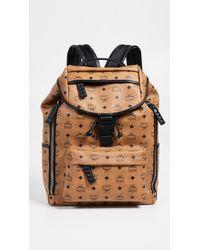 MCM - Killian Visetos Medium Backpack - Lyst