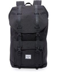 Herschel Supply Co. . Little America Laptop Backpack - Black