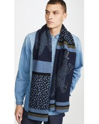 PS by Paul Smith Dino Scarf - Blue