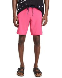 RVCA Va Solid Trunks - Pink