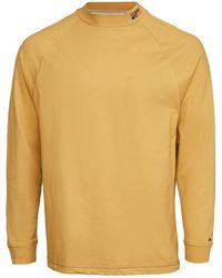 Tommy Hilfiger Tommy Jeans Luis Mock Neck Tee - Yellow