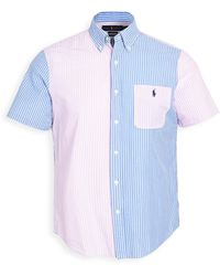 Polo Ralph Lauren Seersucker Classic Shirt - Blue