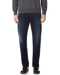7 For All Mankind - Luxe Performance Carsen Easy Straight Leg Jeans - Lyst