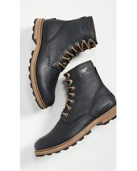 Sorel Madson 6 Waterproof Boots - Black