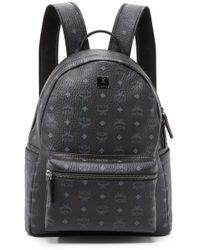 MCM Stark Medium Backpack - Black