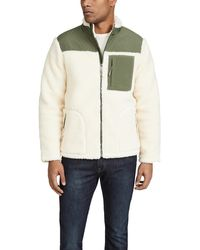 Faherty Brand Sherpa Renegade Jacket - Multicolour