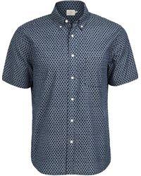Faherty Brand Movement Shirt - Blue