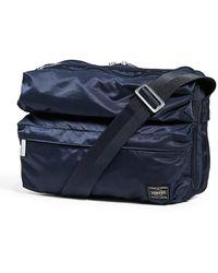Porter Frame Medium Shoulder Bag - Blue
