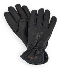 Filson Original Lined Goatskin Gloves - Black