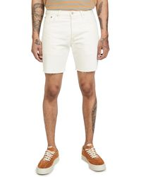 Levi's 501 Cut Off Shorts - White