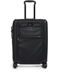 Tumi Alpha Continental Dual Access 4 Wheel Carry On Suitcase - Black