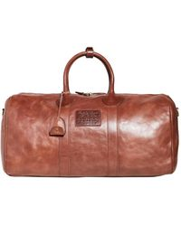 Polo Ralph Lauren Leather Duffle Bag - Brown