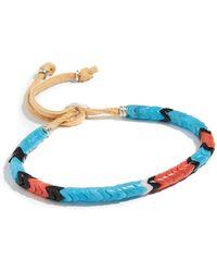 Mikia Snake Beads Bracelet - Blue