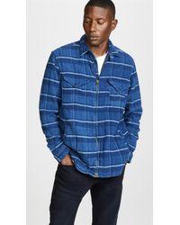 Polo Ralph Lauren - Long Sleeve Full Zip Plaid Shirt - Lyst