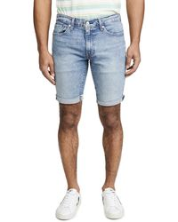 Levi's 511tm Slim Cut-off Shorts - Blue