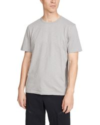 Theory Cosmos Essential Tee - Grey