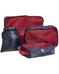Herschel Supply Co. Travel Organizer Set - Red