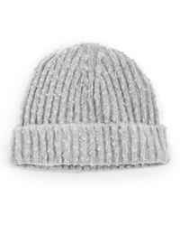 Maison Margiela Gauge 5/2x1 Peeling Casentino Hat - Grey