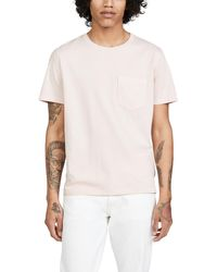 Billy Reid Washed Tee - Multicolour