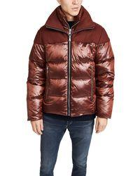 The Very Warm Logan Puffer Jacket - Multicolour