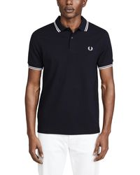 Fred Perry Twin Tipped Shirt - Blue